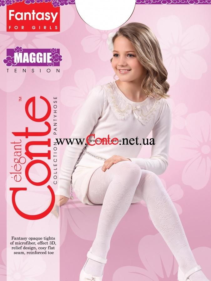 Колготки Conte Maggie 104-110 Melanzana