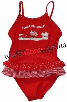 Детский купальник ESLI™ Sheep красный