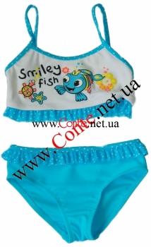 Детский купальник ESLI™ Smiley небесный