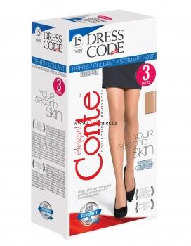 Колготки Dress Code 15 den 3 пары