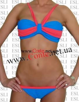 Купальный костюм женский MANIA ESLI™ blue-rose