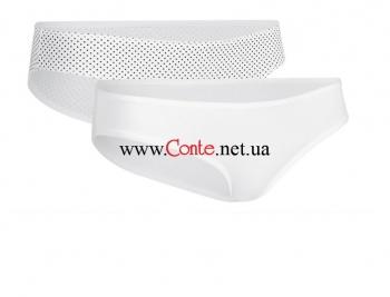 Женские трусы Esli™ Slip EUW 001 белый 2 пары