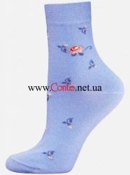 3165f20a5b2c БЧК Носки женские 1100 CLASSIC 013 голубой