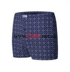 Мужские трусы DiWaRi Basic Boxer MBX 005 Dark blue