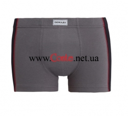 Мужские трусы DiWaRi Basic Shorts MSH 119 Grafit